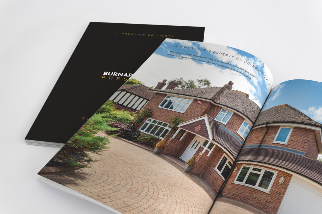 Prestige brochure design